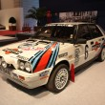 1987 Lancia Delta H.F. Integrale Rally Race Car — Stock Photo #7946995