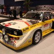 Audi Quattro Rally Race Car from 1984 — Stock Photo #7947015