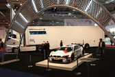 BMW Motorsport stand at the Essen Motor Show — Stok fotoğraf