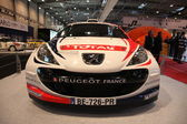 Peugeot 207 Super 2000 Rally Racing Car — Stock Photo