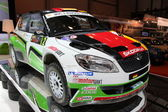 Skoda Fabia Super 2000 Rally Car — Stock Photo