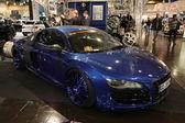 Blue Audi R8 Custom — Stock Photo