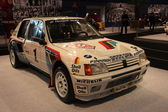 Peugeot 205 Turbo 16 Rally Racing Car — Stock Photo