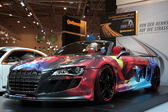 Audi R8 from ABT shown at the Essen Motor Show — Stock Photo