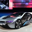 Stock Photo: BMW electric concept car i8