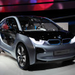 BMW electric concept car i3 - Stock Photo