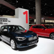 Stock Photo: New BMW 1 series