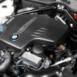 Stock Photo: New BMW TwinPower Turbo Motor