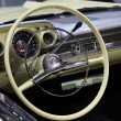 Stock Photo: Dashboard of old Chevrolet Belair