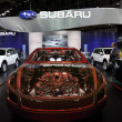 Japanese car manufacturer Subaru at 64th IAA — Stock Photo #7963058