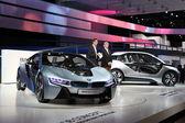 I3 et bmw i8 de voitures concept électrique — Photo