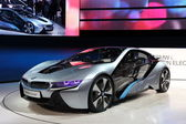 BMW electric concept car i8 — Stock Photo