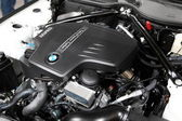New BMW TwinPower Turbo Motor — Stock Photo