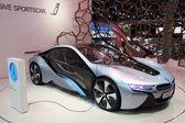 Bmw elektrický koncept vozu i8 — Stock fotografie