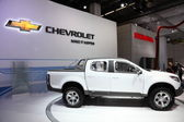 The Chevrolet Offroad Pickup Truck Colorado — Stock Photo