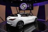 Das infiniti etherea concept car — Stockfoto