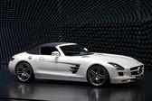 Mercedes benz sls spor araba — Stok fotoğraf