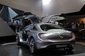 Mercedes benz koncepcja samochodu f125 — Zdjęcie stockowe