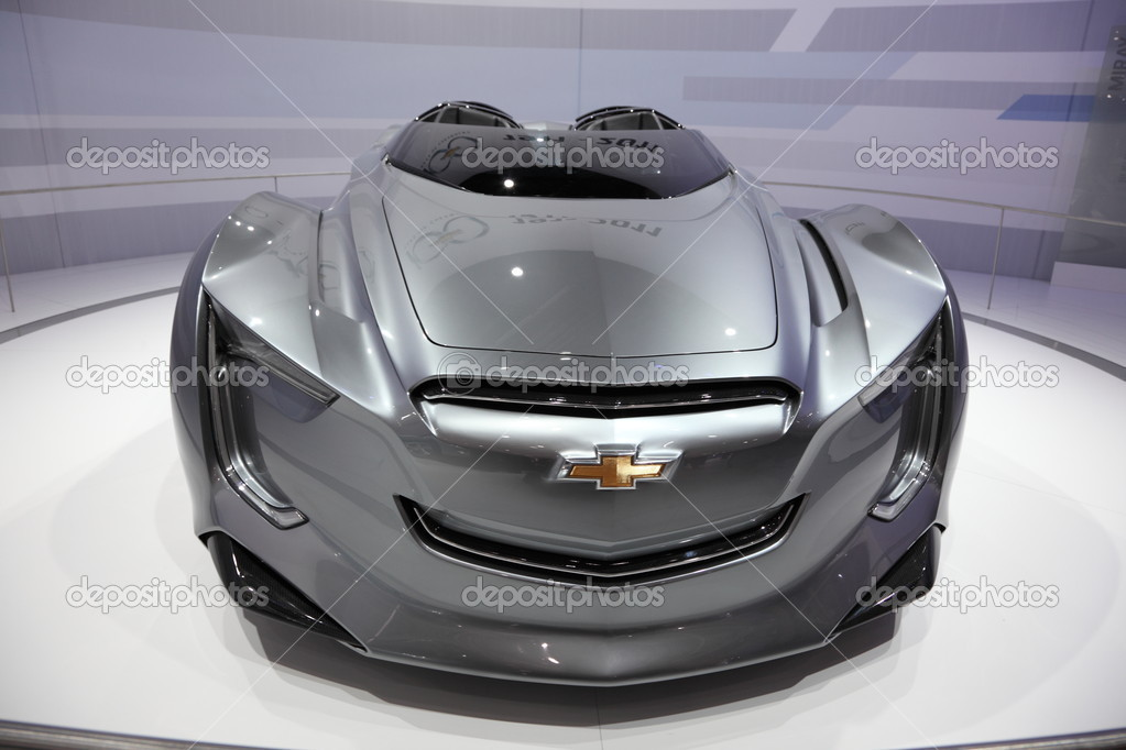 FRANKFURT - SEPT 24: The Chevrolet Concept Car Mirray at the 64th IAA (Internationale Automobil Ausstellung) on September 24, 2011 in Frankfurt, Germany  Stock Photo #7962061