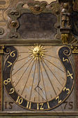 Old sundial from the 16th century — Stock Photo