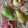 Pears and apples — Stock Photo #7325058