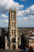 St Bavos Cathedral, Gent, Belgium — Stock Photo
