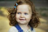 Baby girl happy portrait — Stock Photo