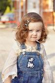 Baby girl portrait — Stock Photo