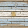 Royalty-Free Stock Photo: Flag of Argentina on grunge brick wall painted with chalk