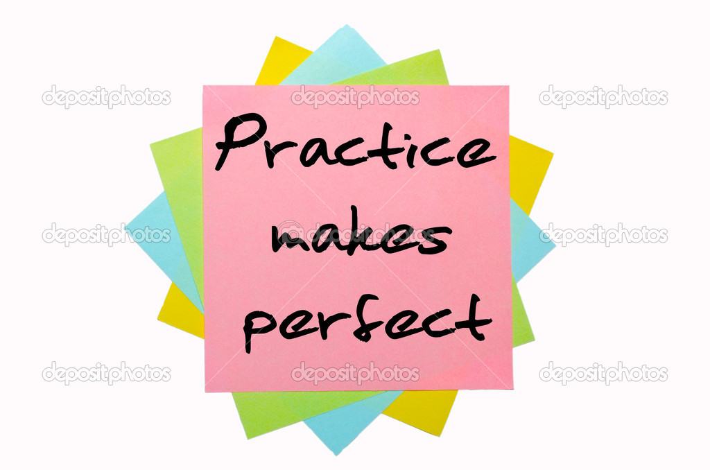 proverb on practice makes perfect This is an ongoing fun collaborative project among the webheads, a group of educators from around the globe on this site there is a collection of proverbs and sayings in a variety of languages, which can be used for language teaching and learning.