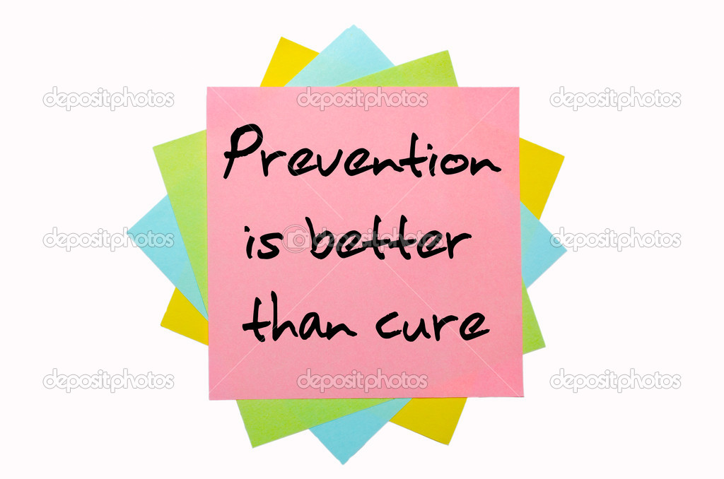 prevention is better than cure essay for children