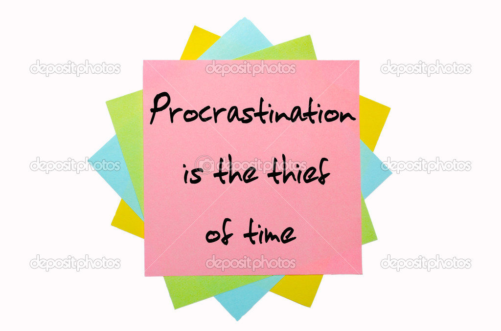 essays for the procrastinators Procrastination essays habits are things we do continually, over and over again, simply because if we not to do them, would make us uncomfortable it might be.