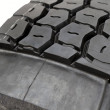 Modified tire from a lorry — Stock Photo