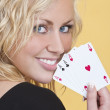 Holding All The Aces — Stock Photo #6778763