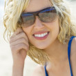Beauty At The Beach Too — Stock Photo