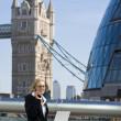 Londra icra — Stok fotoğraf