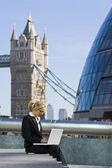 Working In London — Stock Photo