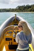 Speedboat Beauty — Stock Photo