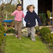 Fun In The Garden — Stock Photo #6801696