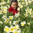 Fun in the Flowers — Stock Photo #6802569