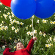Springtime Balloons — Stock Photo