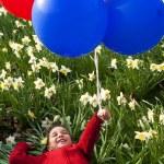 Springtime Balloons — Stock Photo