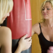Boxing Workout Too — Stock Photo