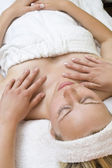 Hands On Massage — Stock Photo