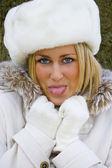 Cheeky Russian — Stock Photo