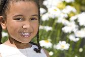 Zwoele zomer glimlacht — Stockfoto