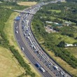 Motorway Congestion - Stock Photo