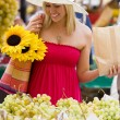 Shopping In The Market — Stock Photo