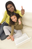Family Learning — Stock Photo