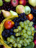 Fresh organic fruit — Stock Photo
